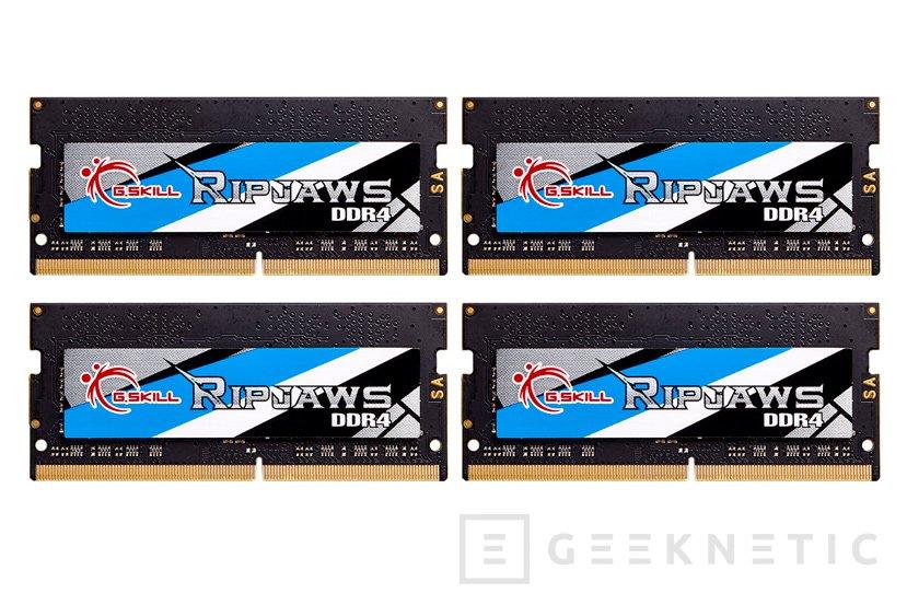 G.Skill reclama el trono de las memorias DDR4 SO-DIMM más rápidas del mundo, Imagen 1