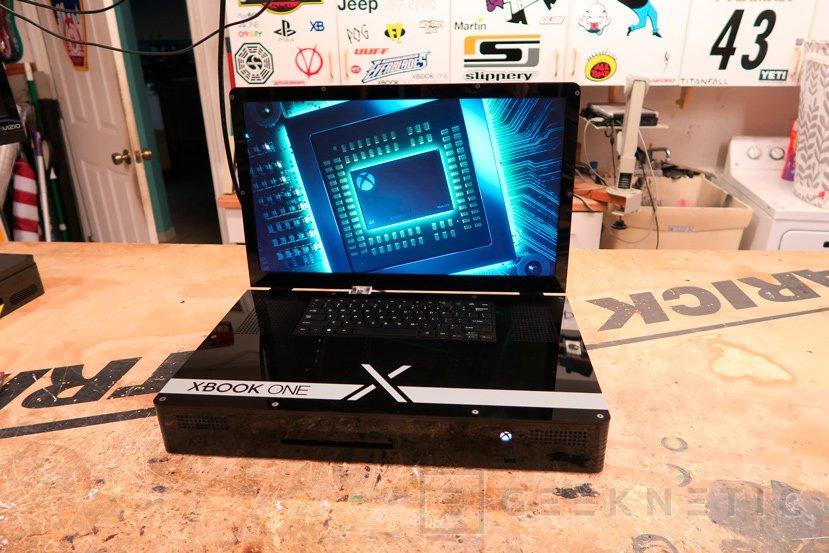 Crean una Xbox One X portátil con su propia pantalla y teclado, Imagen 1