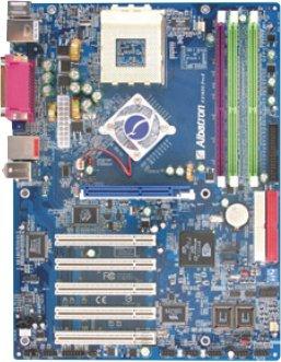 Albatron presenta su placa base KX18DS Pro II, Imagen 1
