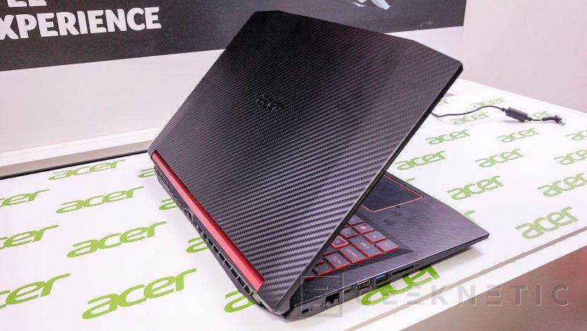 Procesadores AMD Ryzen en el portátil gaming ACER Nitro 5, Imagen 2