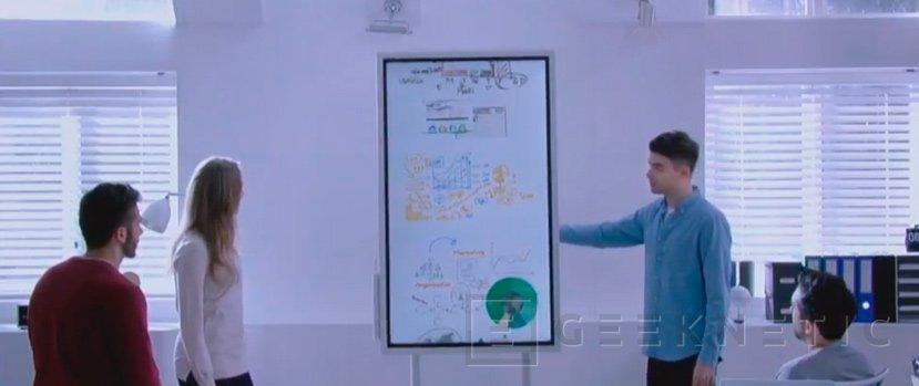 Samsung Flip, una pantalla interactiva para profesionales, Imagen 1