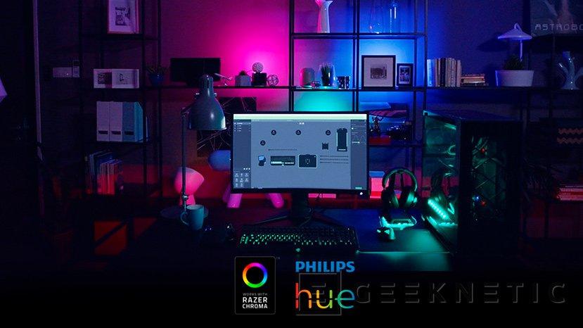 Razer se alía con Philips para sincronizar su sistema de iluminación Hue con Razer Chroma, Imagen 1