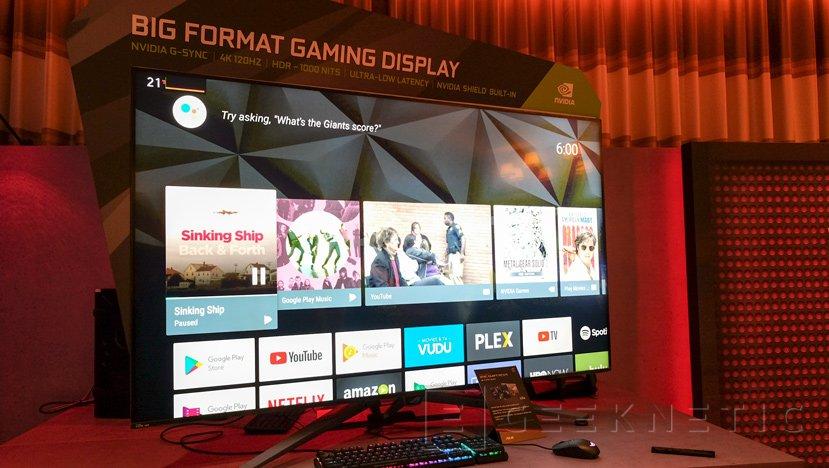ROG SWIFT PG65, así es el enorme monitor 4K de 65