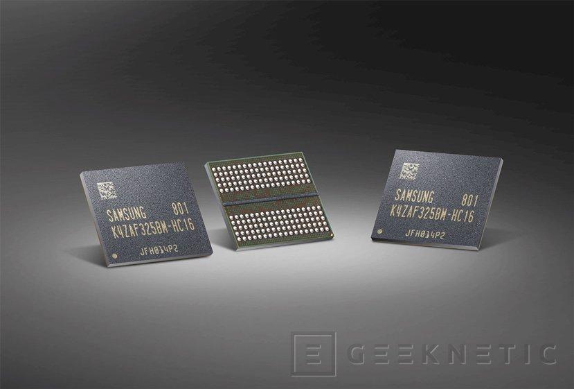 Samsung ya fabrica los primeros chips de memoria GDDR6 de 16 Gb, Imagen 1