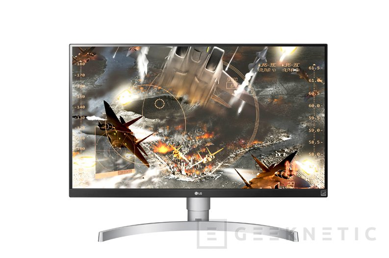LG 27UK65-W, monitor 4K con FreeSync y