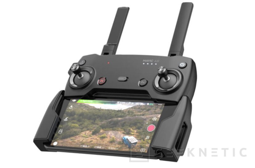 Así es el Mavic Air, el nuevo drone plegable de DJI con tan solo 430 gramos de peso, Imagen 1