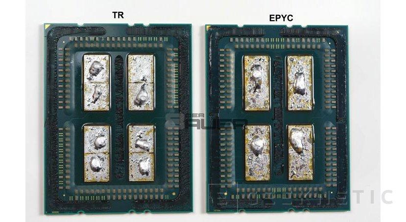 Consiguen hacer funcionar un procesador AMD Epyc de 32 núcleos en una placa base X399, Imagen 1