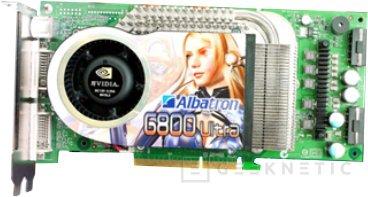 Albatron presenta tres nuevas tarjetas basadas en el nVidia 6800, Imagen 1