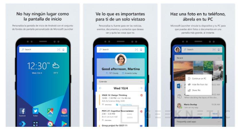 Cortana ya está disponible de manera pública en Android a través del Microsoft Launcher, Imagen 1