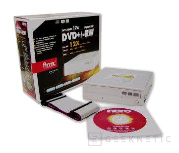 Artec distribuye otra grabadora más de DVD a 12x, Imagen 1