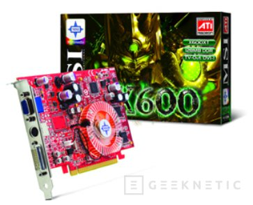 La RX600 XT de MSI trabaja a través del PCI Express, Imagen 2