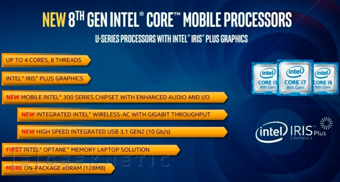 Intel Mobile 8ª Generación