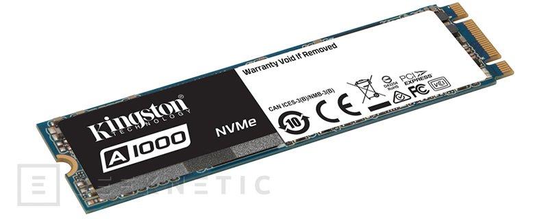Kingston A1000 NVMe SSD