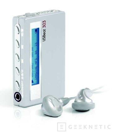USBeat es el nombre del último reproductor portátil de Rimax, Imagen 1