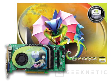 Una nVidia 6800 GT de Point of View, Imagen 1