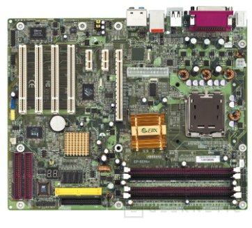 La EPoX EP-5EGA+ trabaja con nada menos que tres PCI Express, Imagen 1