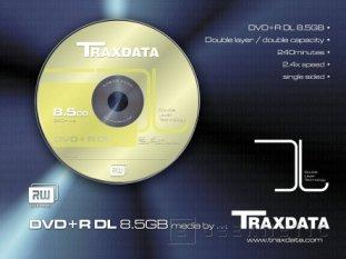 Traxdata permite almacenar cerca de 9 GB en sus DVD+R DL, Imagen 1