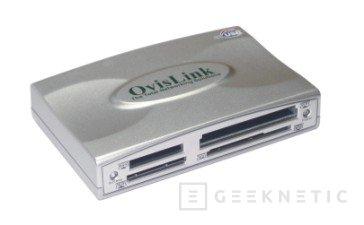 Siete tarjetas de expansión en el OvisLink L7-USB2, Imagen 1