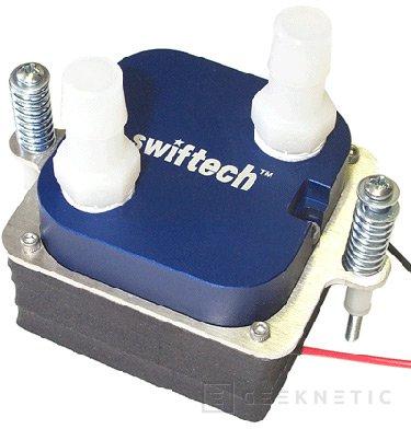 Swiftnets presenta el  MCW5002-64T, un refrigerador líquido para el AMD K8, Imagen 1
