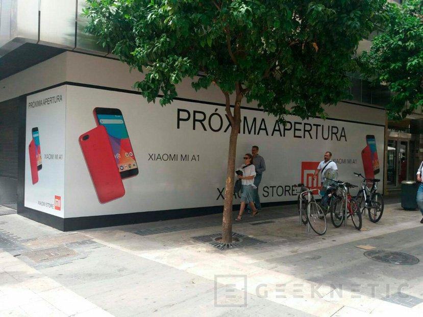tienda física de Xiaomi en Valencia