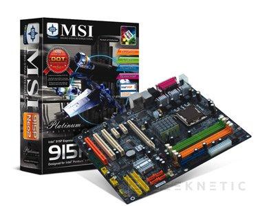 MSI anuncia su última placa base, la 915P Neo2 Platinum, Imagen 1