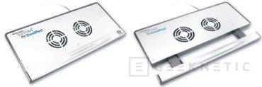 Medio kilo de aluminio para enfriar nuestro portátil con Thermaltake, Imagen 2