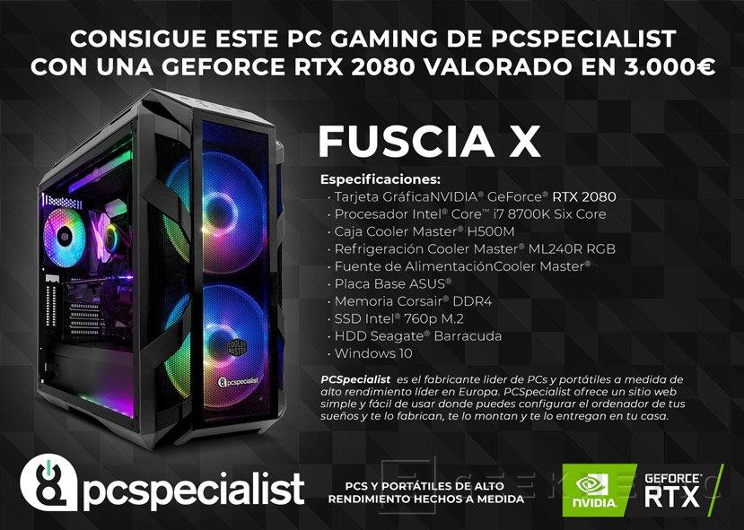 PC Specialist Fuscia X
