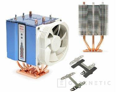 59 láminas de aluminio y dos ventiladores para el Silent Tower, Imagen 1