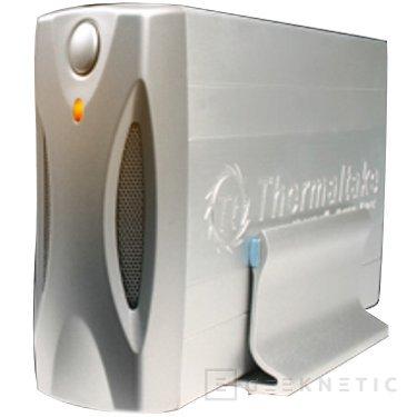 520 gramos de aluminio protegerán y ventilarán nuestro disco duro en el Thermaltake SilverRiver, Imagen 1