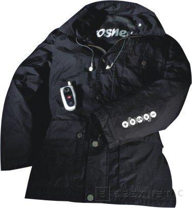 Lleva tu música a todos lados con esta chaqueta, Imagen 1