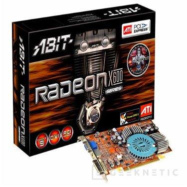 Nueva tarjeta gráfica Abit basada en chip de ATI, la ABIT RX600 XT-PCIE, Imagen 1