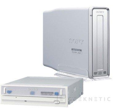 Sony lanza grabadoras de DVD capaces de completar los 4.7 GB en 6 minutos, Imagen 1