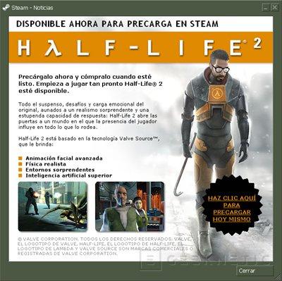 Pre-descargarte el Half-Life 2, Imagen 1