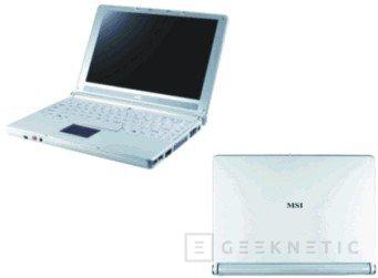 El portátil Mega Book S250 de MSI tiene una pantalla de 12.1 pulgadas, Imagen 1