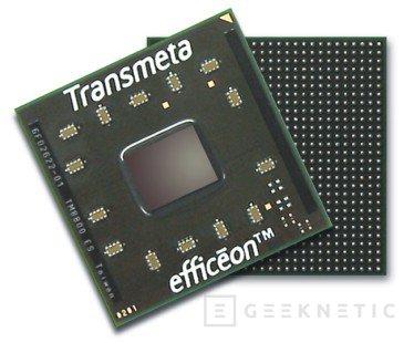Nuevo procesador Efficeon TM8800 de Transmeta con tecnología de 90 nm, Imagen 1