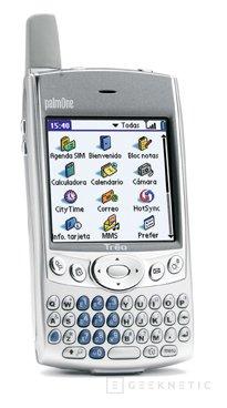 palmOne presenta, Treo 600, el teléfono móvil 'más inteligente', Imagen 1