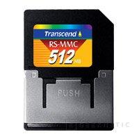 Transcend introduce su MultimediaCard de 512mb, Imagen 1