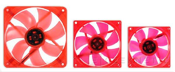 Thermaltake anuncia tres ventiladores de colores de la su gama UV Fan, Imagen 1