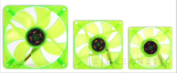 Thermaltake anuncia tres ventiladores de colores de la su gama UV Fan, Imagen 2