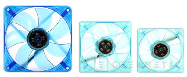 Thermaltake anuncia tres ventiladores de colores de la su gama UV Fan, Imagen 3