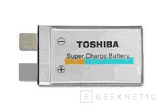 Toshiba presenta una nueva batería Litio-Ion, Imagen 1