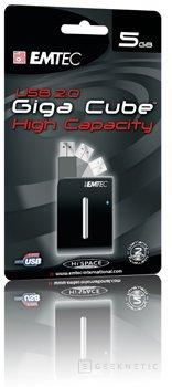 GIGA CUBE, 5GB en 1 pulgada, de EMTEC, Imagen 1