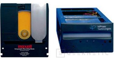 Maxell prepara sus discos Holograficos de 300GB para el 2006, Imagen 1
