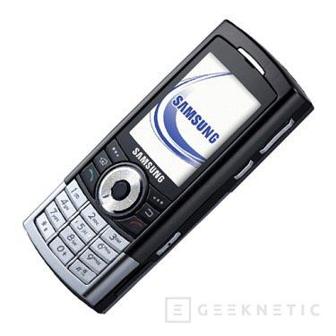 Samsung y su telefono de 8GB, Imagen 1