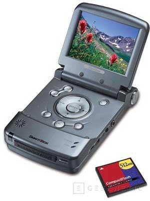 Nuevo reproductor portátil de SmartDisk: FlashTrax, Imagen 1