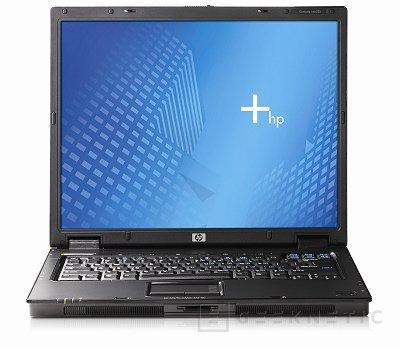 HP presenta su nx6325 con procesadores Turion 64 X2 de AMD, Imagen 1