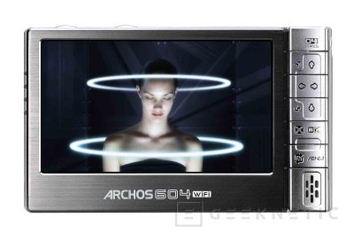 Archos actualiza su 604 y sorprende a la competencia, Imagen 1