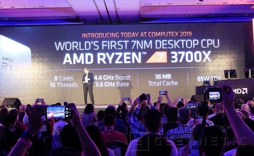 AMD anuncia que sus Ryzen 7 de 3a basados en Zen 2 y 7nm superan al Intel Core i7-9700K, Imagen 1