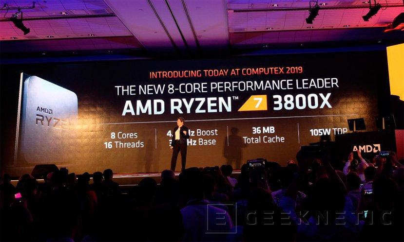 AMD anuncia que sus Ryzen 7 de 3a basados en Zen 2 y 7nm superan al Intel Core i7-9700K, Imagen 2