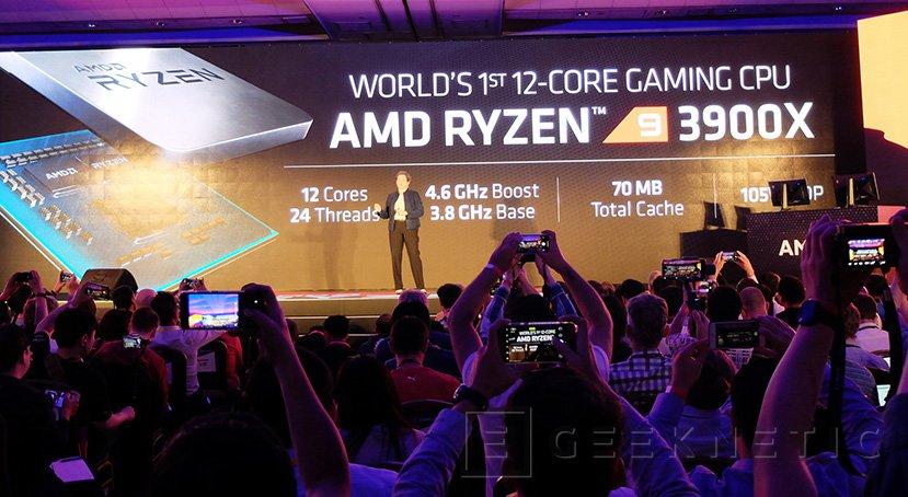 AMD anuncia el Ryzen 9 3900X de 12 núcleos basado en Zen 2 y 7nm por 500 euros, Imagen 1